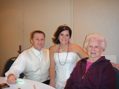 Dewey & Sarah with Grandma Rosie.