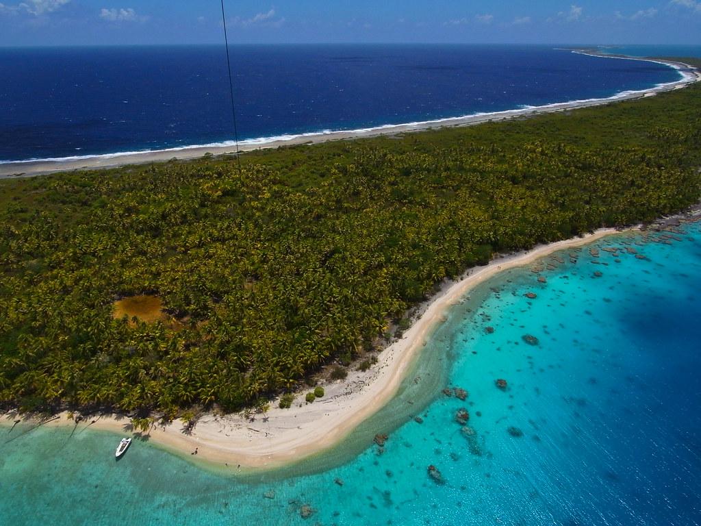 Французская Полинезия пляж