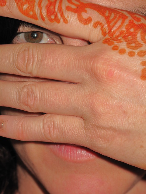 henna tattoo study 1