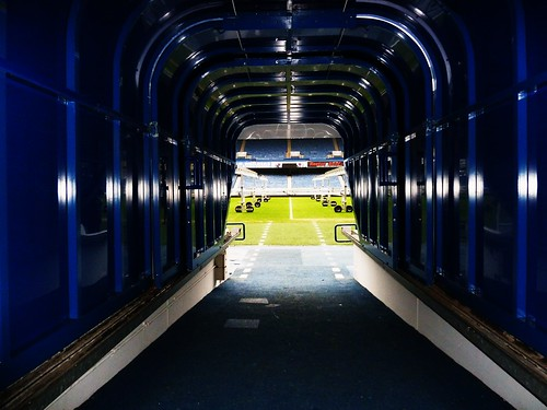 Players Entrance Tunnel, Rangers F.C.