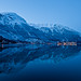 Winter reflection in Odda by Dag Endre Opedal