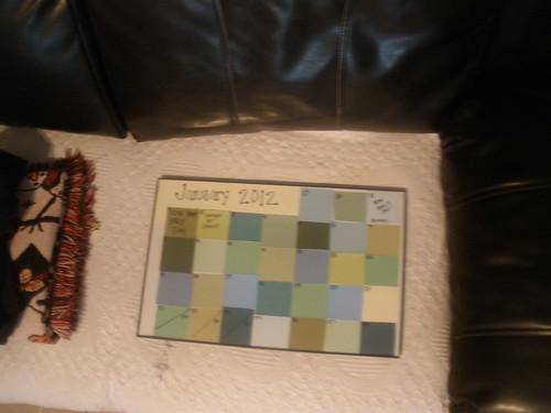 Pintrest Calendar!