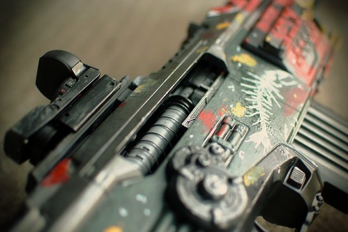 The finished Brink rifle