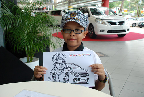 Caricature live sketching for Tan Chong Nissan Almera Soft Launch - Day 1 - 44