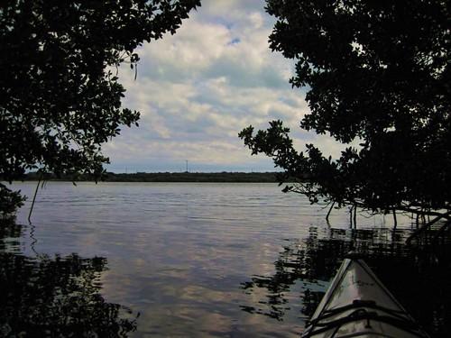 sky reflection clouds emergence mangroves 122911keylargoflpublic2012floridabaypicnikkayakfrommykayakbaywaterseablue