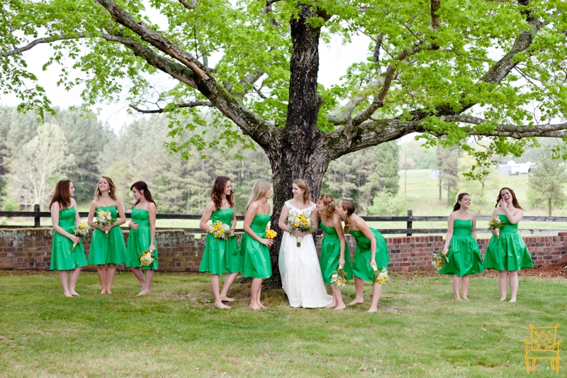 gray and yellow outdoor vintage wedding_036