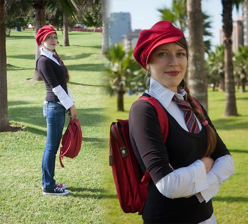 Red Hat + Tie