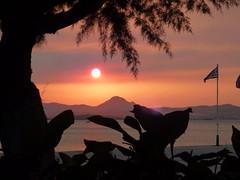 Zonsondergang op Limnos