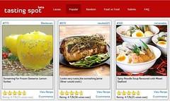 Lemon Sorbet Featured @ Tasting Spot