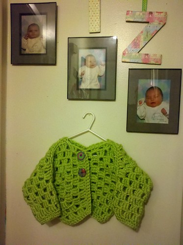Olivia's granny shrug