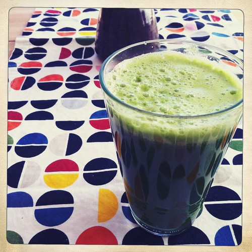 saturday green juice