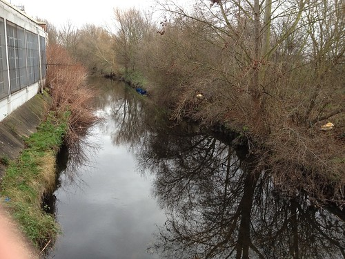River Wandle, King George's Park, Wandsworth