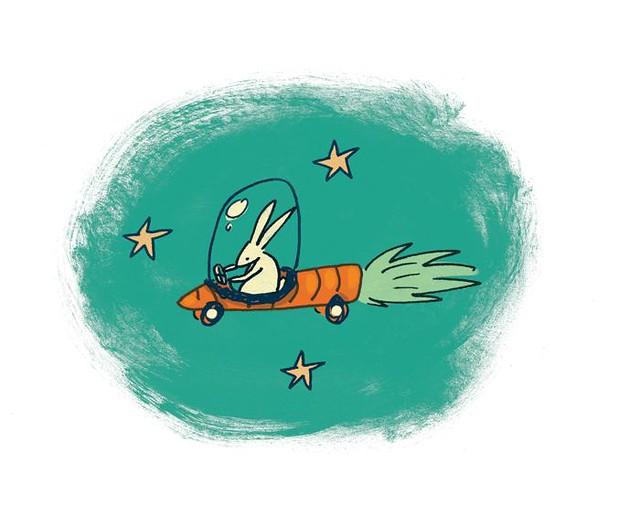 Bunny rocket