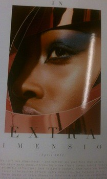 MAC Extra Dimension for Spring 2012
