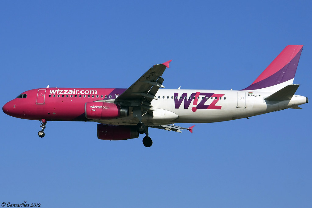 A320 WizzAir HA-LPW