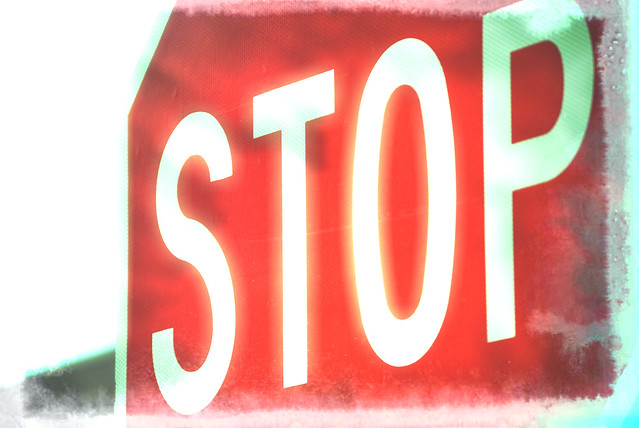 Stop sign from Flickr via Wylio