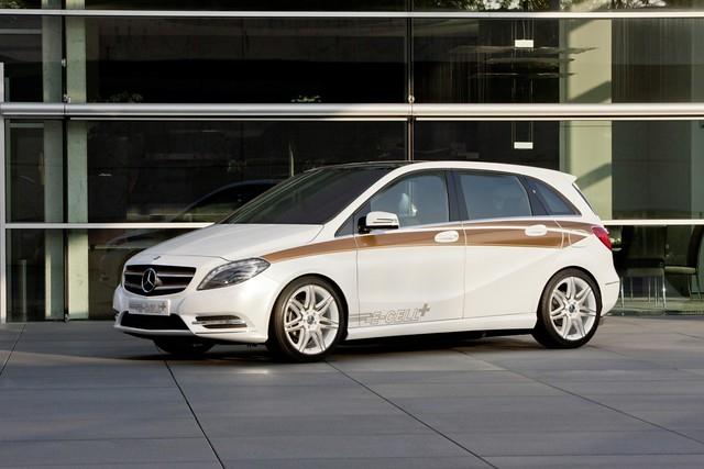 Mercedes-Benz Clase B E-CELL Concept