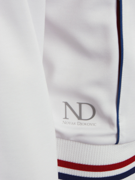 Sergio Tacchini's kit for Novak Djokovic