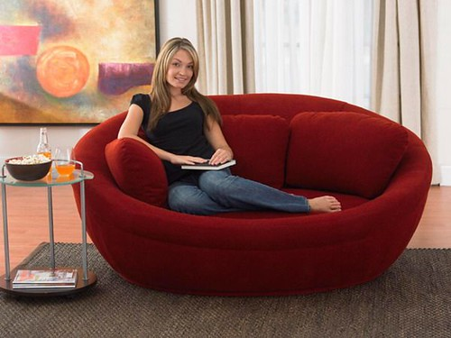 modern design loveseat sofa