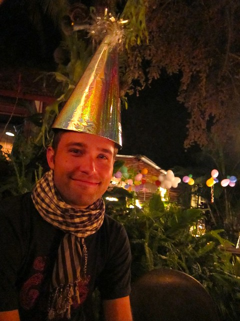 Celebrating new year's eve in Laos