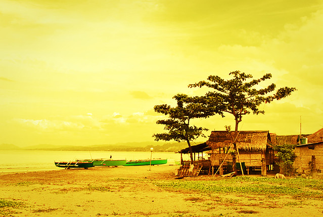 Nipa Hut Beach House Nipa Hut in The