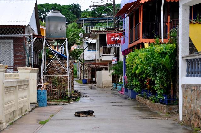 Isla Taboga street