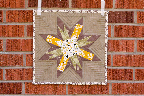 Washington Star Mini Quilt by jenib320