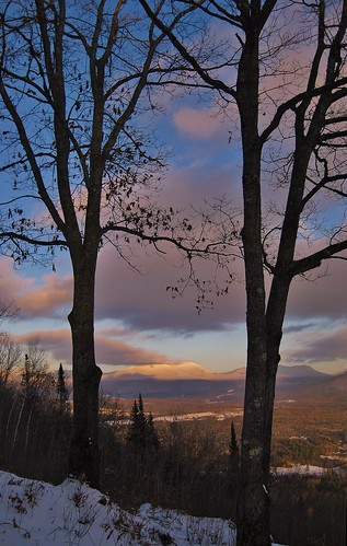 park new trees winter sunset snow tree clouds mt state dusk low january nh hampshire mount views weeks cabot 2012 stratocumulus