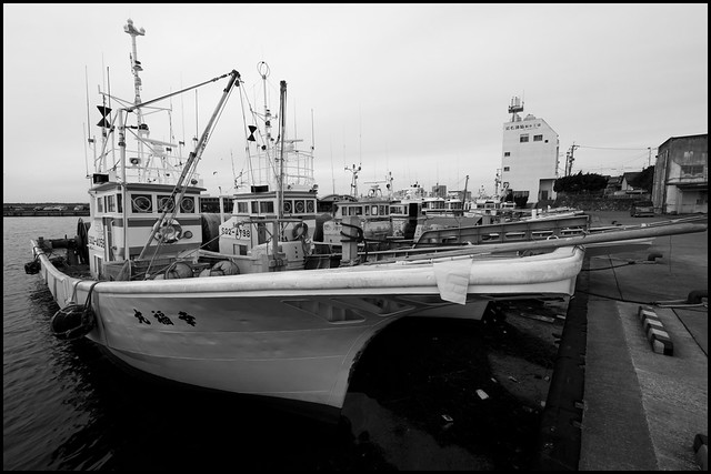 Japanese fishing boats in port flickr photo sharing for Japanese fishing boat
