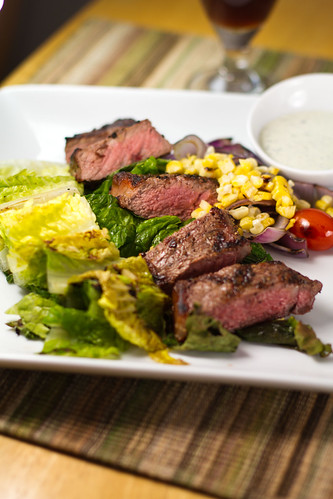 Grilled Steak Salad w/Buttermilk Dressing