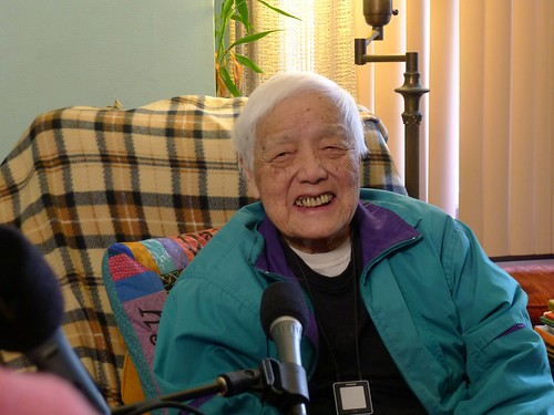 Grace Lee Boggs During an Interview with Krista Tippett