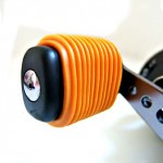 Metalic Orange Fishing Reel Grip
