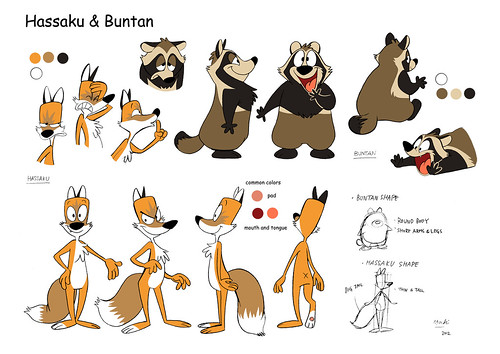 Hassaku and Buntan ref sheet
