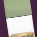 Handmade Vintage matchbook notepad-open