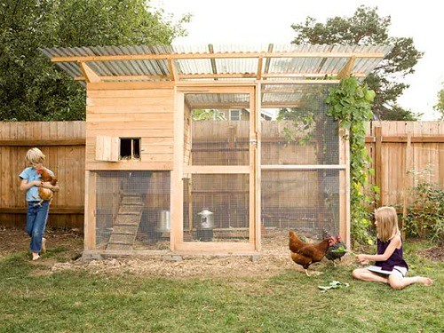 """The Garden Coop"" Chicken Coop Plans from eFowl"