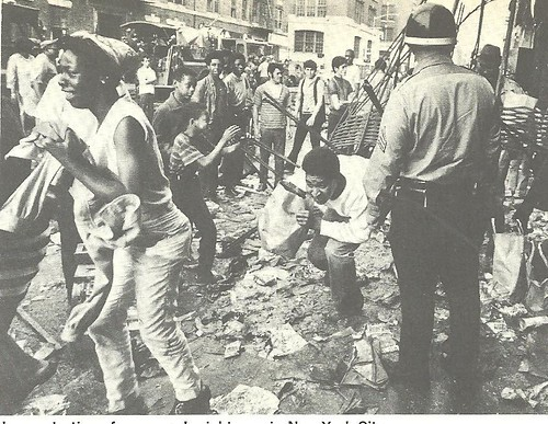 1970 Garbage Riots, Brownsville, NY