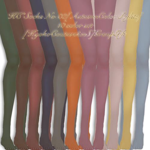 KC*Socks No.02[AutumnColorTights]
