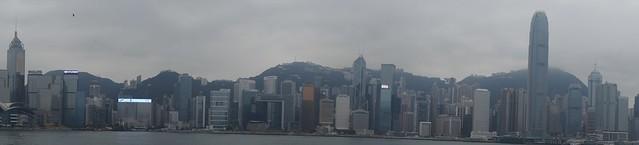 Super Panorama de Hong Kong.