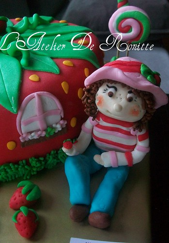 Çİlek Kız Pastası by l'atelier de ronitte