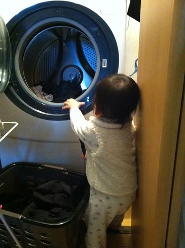 洗濯お手伝い