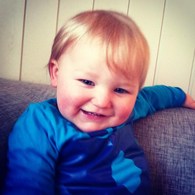 Smiling Olli