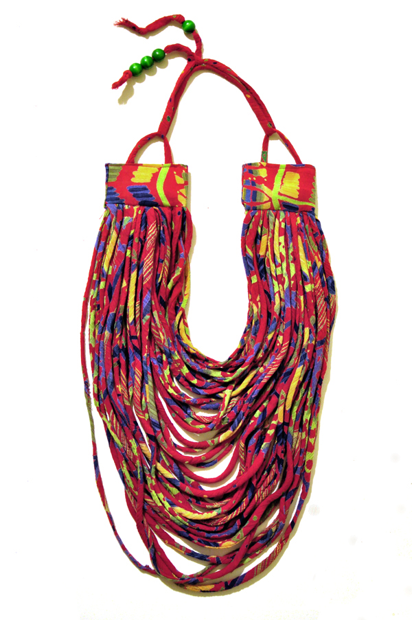 Kazzthespazz.com| African inspired neckpiece