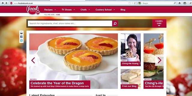 My Orange Passionfruit Curd Tartlets on Food Network UK Front Page