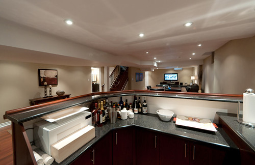 Bar/Kitchen Finished Basement