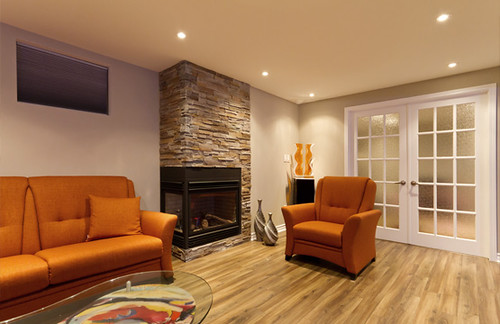 Fire Place Finished Basement