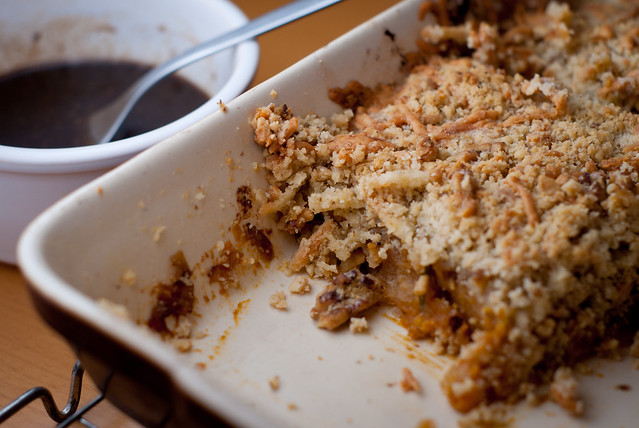 Vegetable crumble 1