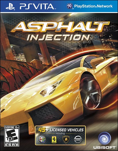 Asphalt: Injection for PS Vita