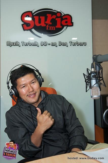 Budiey di Konti Suria FM