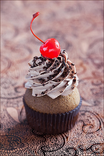 Coffee chocolate cupcake by laperla2009