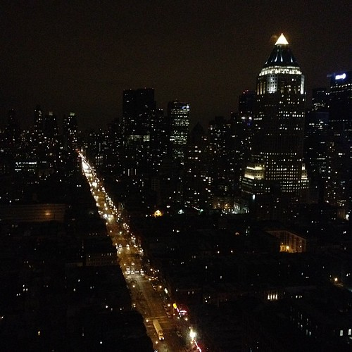 Something magical about city lights. #nyc